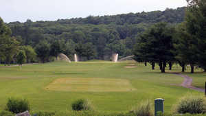 Mill Race Golf & Camping Resort: Practice area