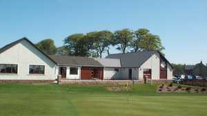 Duns GC: Clubhouse & #18