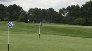 Coxmoor GC: Practice area