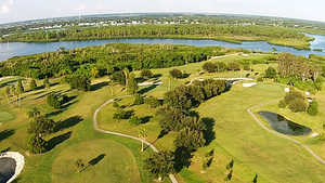 River Run Golf Links: aerial view