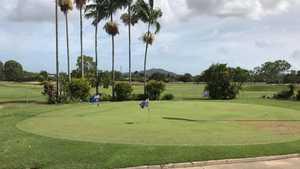 Lavarack GC: Practice area