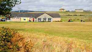 The clubhouse at Wigtownshir
