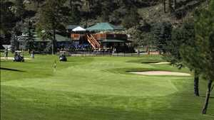 Evergreen GC: #18 & the clubhouse