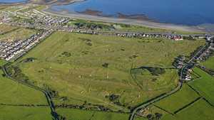 Kirkistown Castle GC: Aerial
