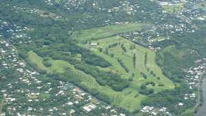 Royal Samoa CC: Aerial view