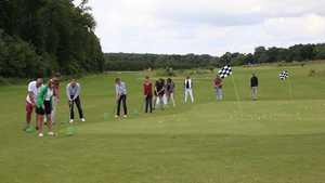 Golf de Chartres: Practice area