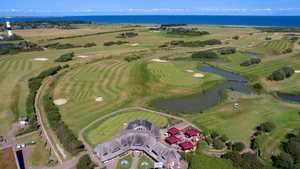 Sylt GC - 9-hole Gaadt: Aerial view