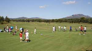 Real Club de Golf El Prat: Practice area