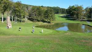 Cacapon Resort State Park: Practice area