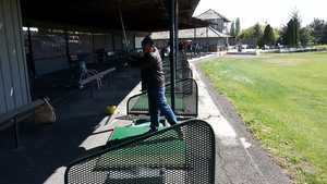 Westwood West GC: Driving range