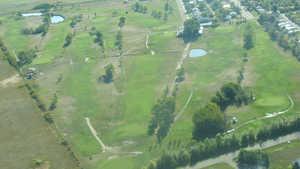Coronation GC: Aerial view