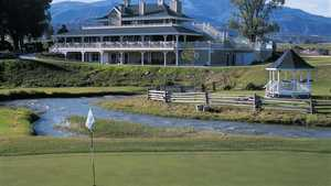 Gypsum Creek GC: #18 & clubhouse