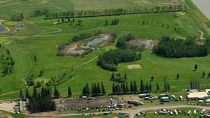 Hamiota GC: Aerial view