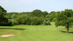 3rd green on the Shropshire Silver course