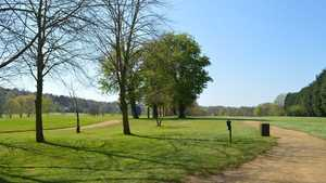 The 18th hole at Delapre