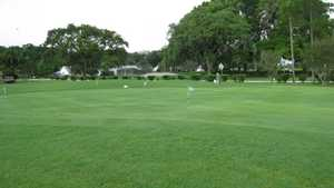Casselberry GC: putting green