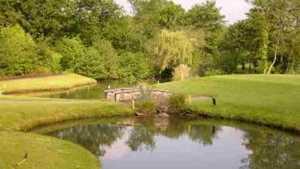 Pond at Creigiau Golf Club