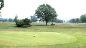 Belle Park GC: Practice area