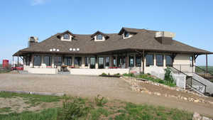 Macklin Lakeview GC: Clubhouse