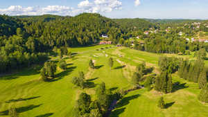 Arendal & Omegn GC: Aerial view