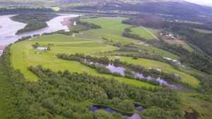 Namdal GC: Aerial view