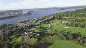 Kragero Golf Park: Aerial view