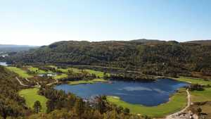 Sirdal Fjell GC: Aerial view