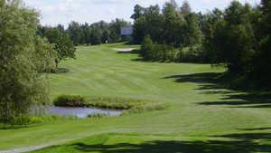 Club de Golf de l'Auberiviere - 18-hole: #18