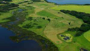 Stoney Meadows GC: Aerial view