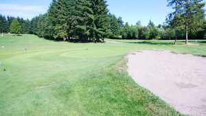 Battle Creek GC: Practice area