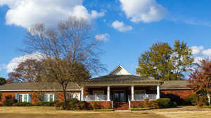 Redbud Springs GC: Clubhouse