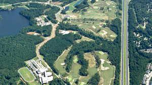 Lonnie Poole GC: Aerial view