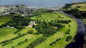 Duff House Royal GC: Aerial