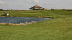 Highland Oaks GC: clubhouse