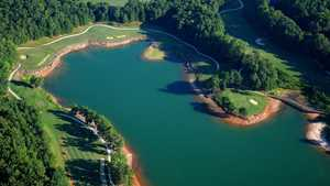 Lanier Islands Legacy GC: Aerial view
