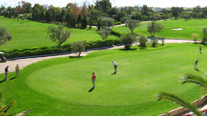 El Kantaoui GC: putting green
