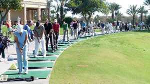 Golf du Soleil: Driving range