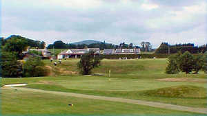Glencorse Golf Club - 1st Green