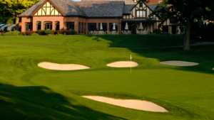 Oak Hill CC: Clubhouse