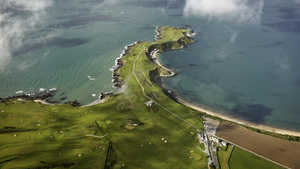 Nefyn and District GC: Aerial
