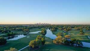 Bayou Oaks City Park South: Aerial