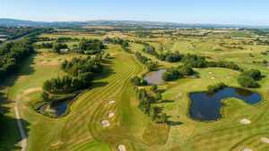 Pike Fold GC: aerial view