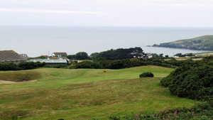 Sea view at Cardigan Golf Club