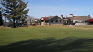 West Branch CC: #9 & clubhouse
