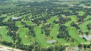 Yahara Hills GC: Aerial view