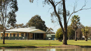 Finley GC: Clubhouse