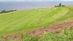 Millport Golf Club - 2nd Shot to 10th Green