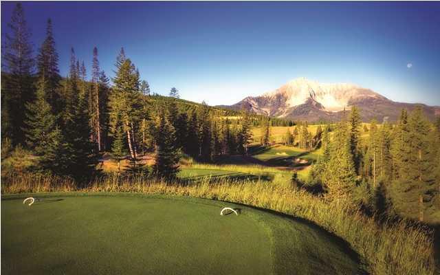The Reserve At Moonlight Basin Golf Club In Big Sky