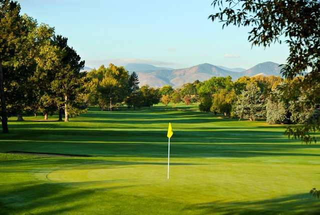 Maxwell 18 at Pinehurst Country Club in Denver, Colorado, USA | Golf ...