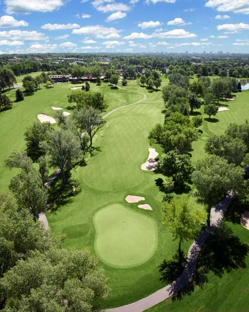 Eighteen Hole At Cherry Hills Country Club In Englewood